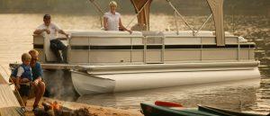 pontoon boat rentals on Chickamauga Lake